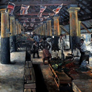 Hector McDonnell Covered Market Galle