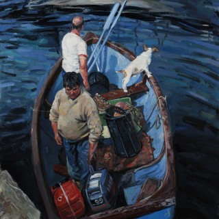 Hector McDonnell Fishing Boat and Crew Castletownshend