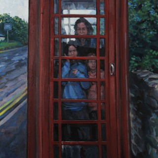 Hector McDonnell Phone Box at the Giants Causeway