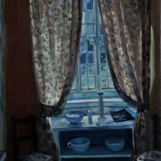 Hector McDonnell Tullynally Window with Curtains