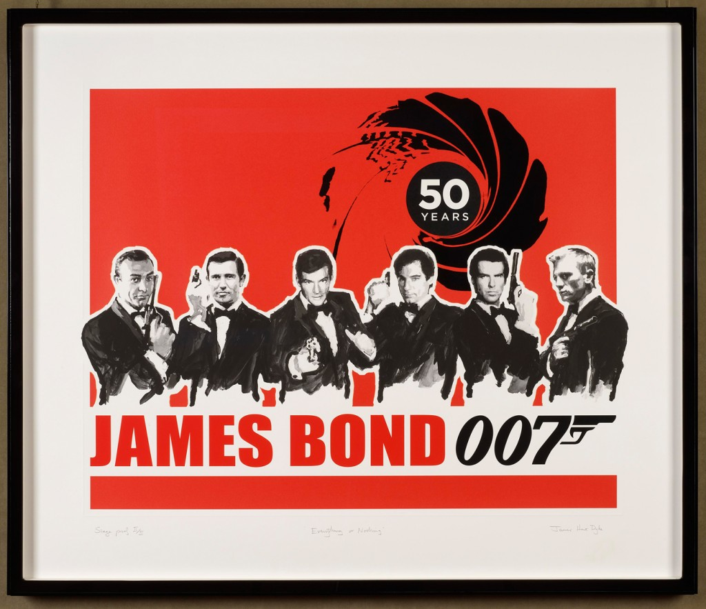 James Hart Dyke 50 Years of 007 (Red)