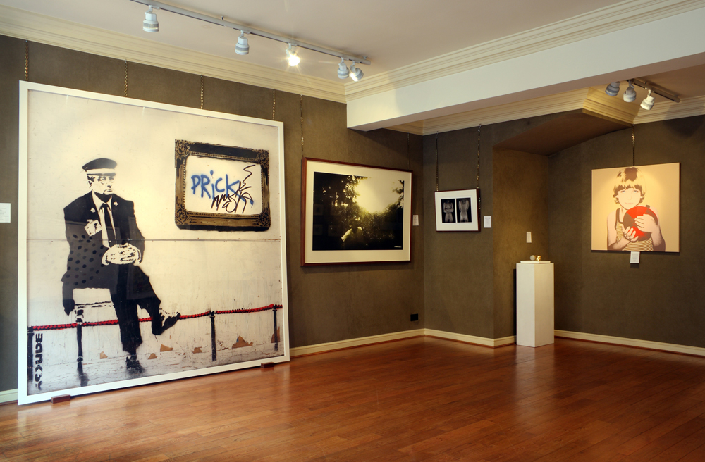 Photos of London New York Bristol at Mount Street Galleries