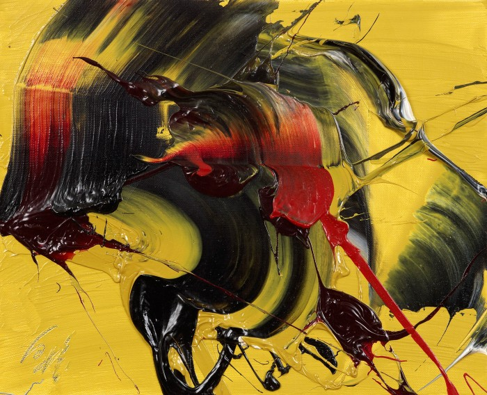 Kazuo Shiraga Auspicious Yellow